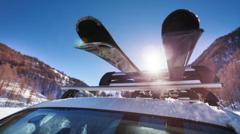 Car ski rack