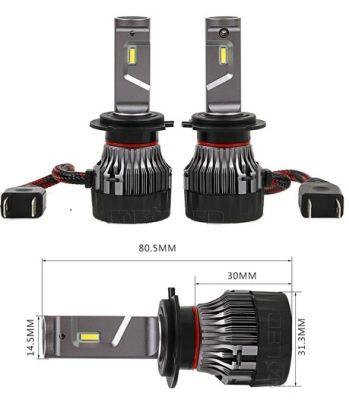H7 LED Car Headlight Bulbs improve road visibility